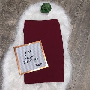 Hearts and Hips pencil skirt